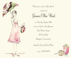 Beautiful Mom Baby Shower Invitation